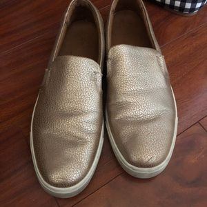 Rose Gold FRYE slip on